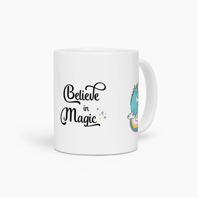 mug licorne believe in magic