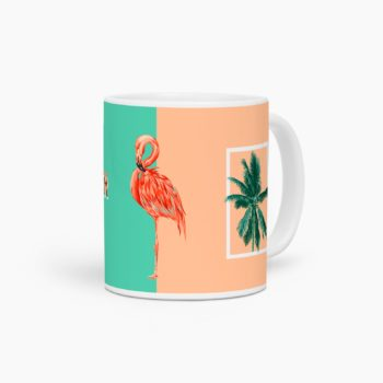 mug flamand rose summer vibes